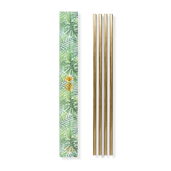10 IN. METAL STRAWS