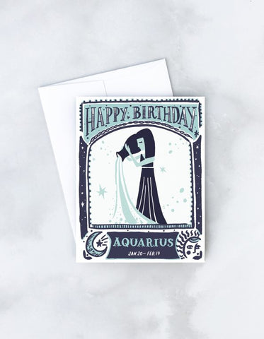 Aquarius-Zodiac Birthday
