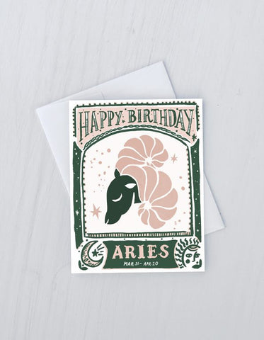 Aries -Zodiac Birthday