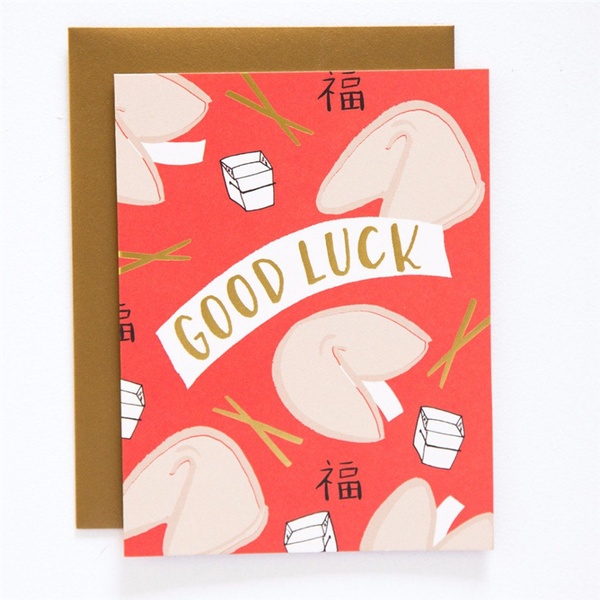 9th Letter Press - Good Luck