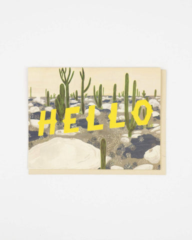 Small Adventure - Hello Desert Card