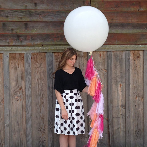 Balloon Tassel Kit - Pink Ombre