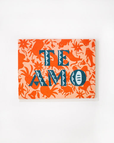 Small Adventure - Te Amo Card