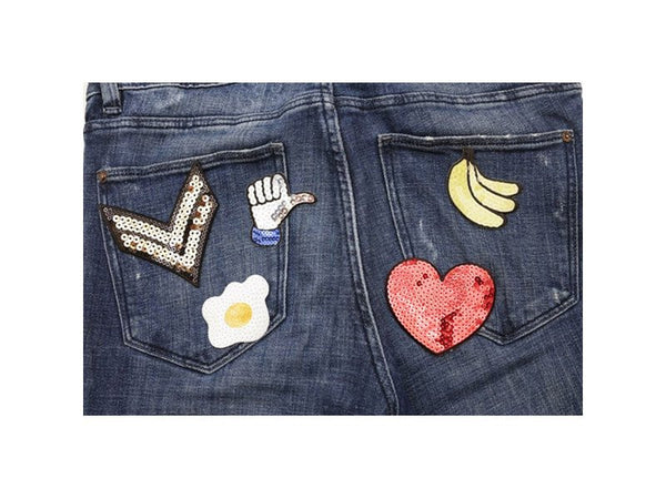 Iron On Sequin Patch Set