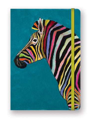 rainbow zebra journal