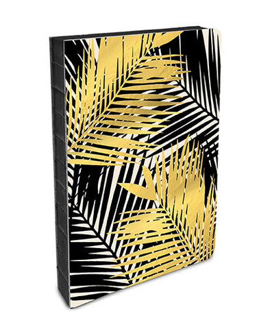 coptic  bound Gold Foil Palm Fronds