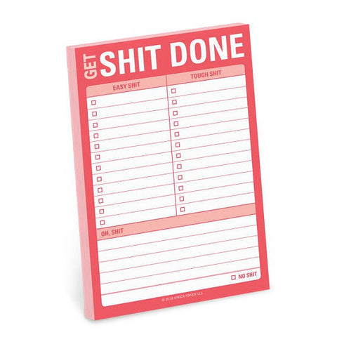 Get Shit Done Great Big Sticky Note