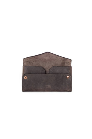 GRANDE ENVELOPE WALLET- Brown