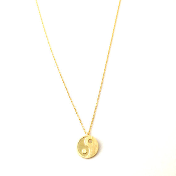 Yin Yang Symbol Necklace
