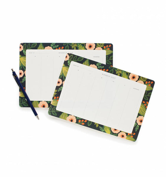 EVERYDAY WEEKLY DESK PAD JARDIN WEEKLY DESK PLANNER WITH TEAR-OFF SHEETS