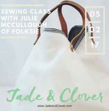 Sewing Class With Jule McCullough of Folksie