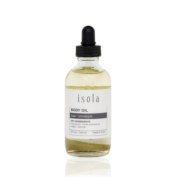 isola Sage + Pineapple Body Oil