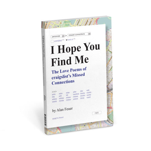 BOOK: I HOPE YOU FIND ME