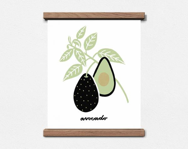 AVOCADO 8X10 BOTANICAL PRINT