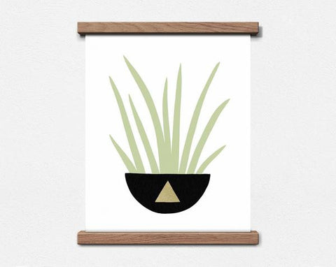 HOUSE PLANT FRIEND - TRIANGLE - 8 X 10 PRINT