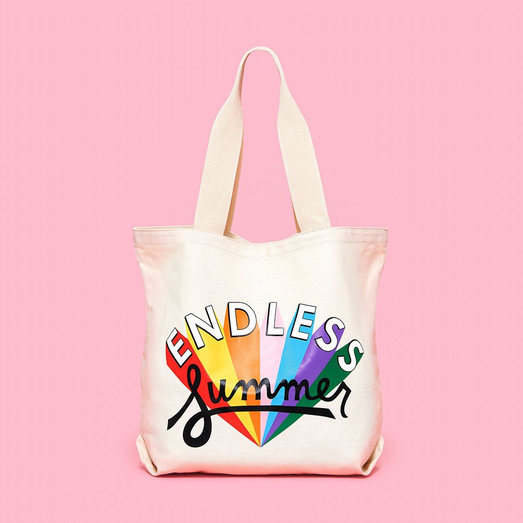 Endless Summer Canvas Tote
