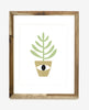 HOUSE PLANT FRIEND - EYE - 8 X 10 PRINT
