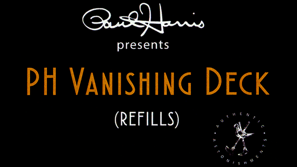 Paul Harris Presents PH Vanishing Deck Refill Pack