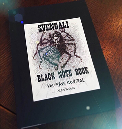 Svengali Note Book (A5 size 4.25 x 5.5 inch) by Alan Wong