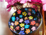Bohemian Flower Dish for Bracelets Rings Home Organization Jewelry Storage Coasters Ring Catch