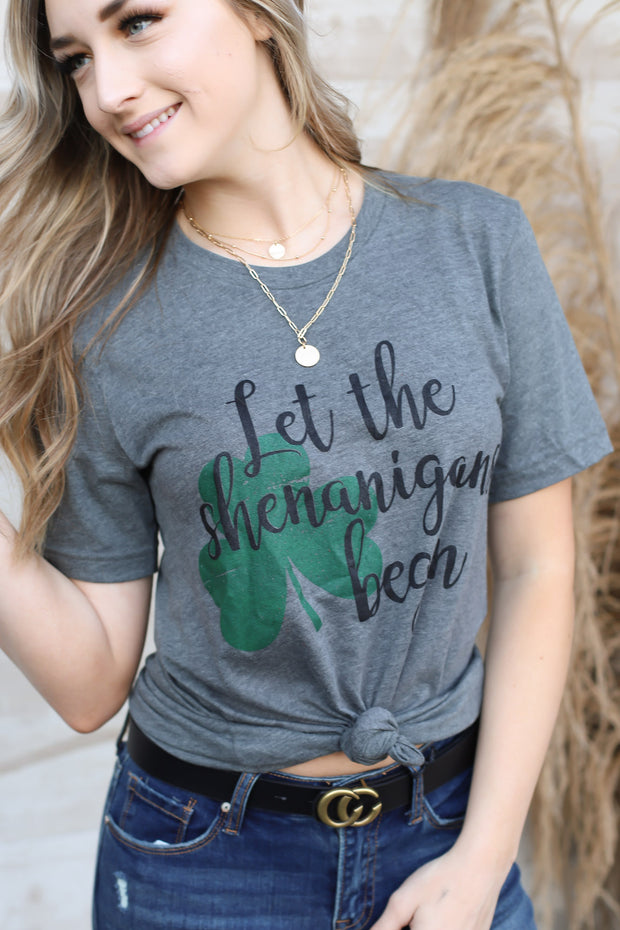 Let The Shenanigans Begin Tee - ShopSpoiled