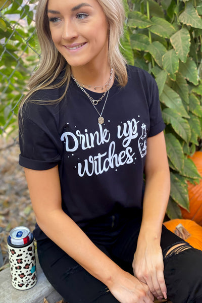 Drink Up Witches: White - ShopSpoiled