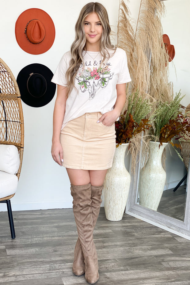 Ada Over The Knee Boots: Taupe - ShopSpoiled