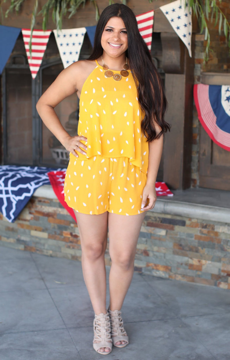 Make My Day Two Piece: Mustard - ShopSpoiled