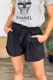 True Miracle Shorts: Black - ShopSpoiled