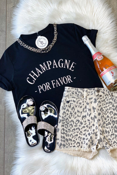 Champagne por favor: Black - ShopSpoiled