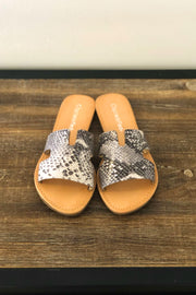 Tori Snake Sandals - ShopSpoiled