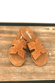 Rosemary Sandals: Tan - ShopSpoiled