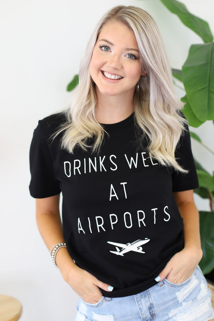 Drinks well at airports: Black - ShopSpoiled