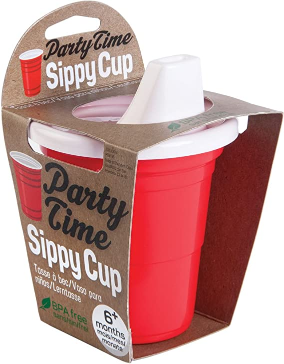 Party Time Sippy Cup - ShopSpoiled