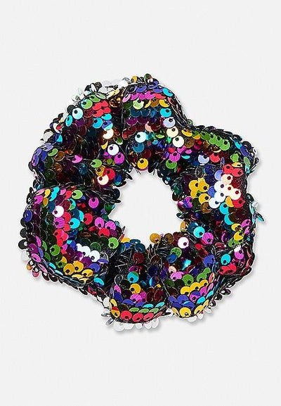 Sequin Hair Scrunchie - ShopSpoiled