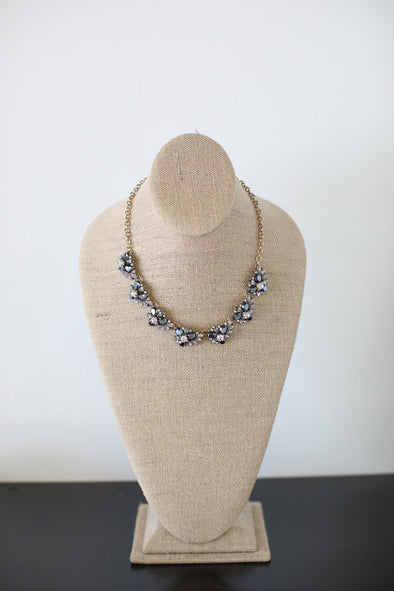 Charcoal Bling Necklace - ShopSpoiled