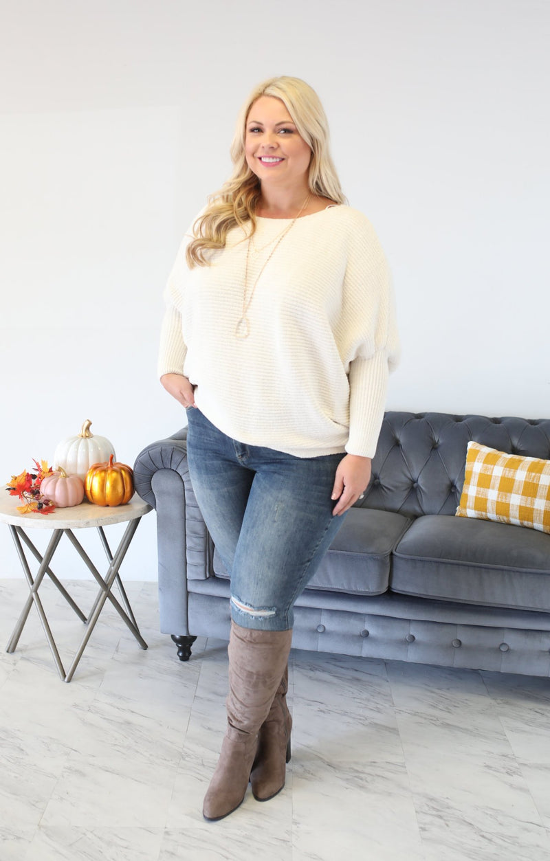 Chilly Days Xtra Sweater - ShopSpoiled