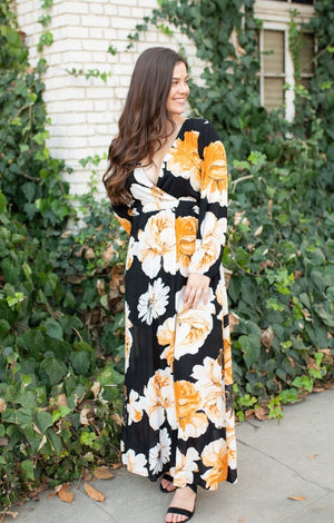 Florence Floral Dress - ShopSpoiled