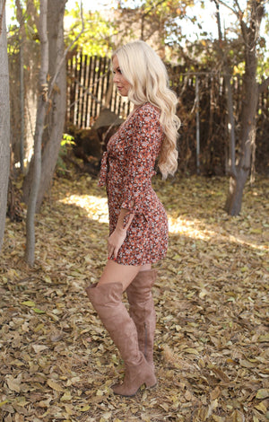 Flourishing Fall Dress - ShopSpoiled