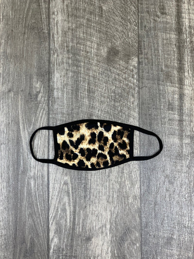 Face Mask: Leopard - ShopSpoiled