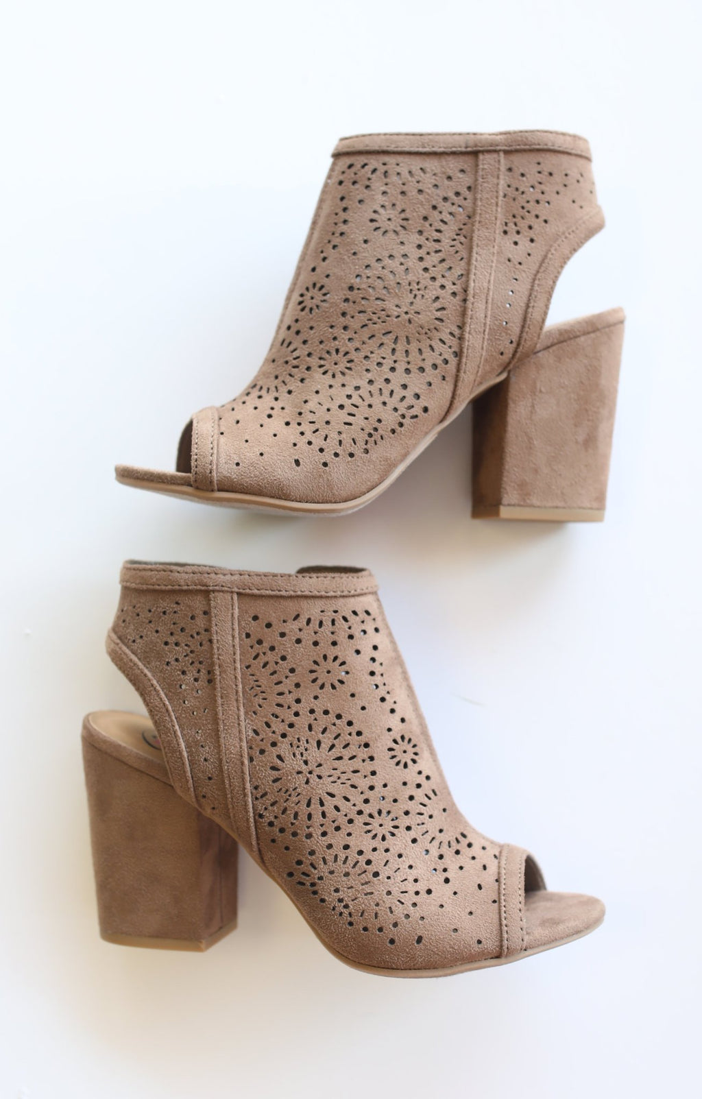 Parker Bootie: Brown - ShopSpoiled