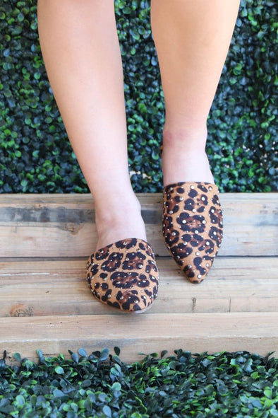 Milly Mule: Leopard - ShopSpoiled