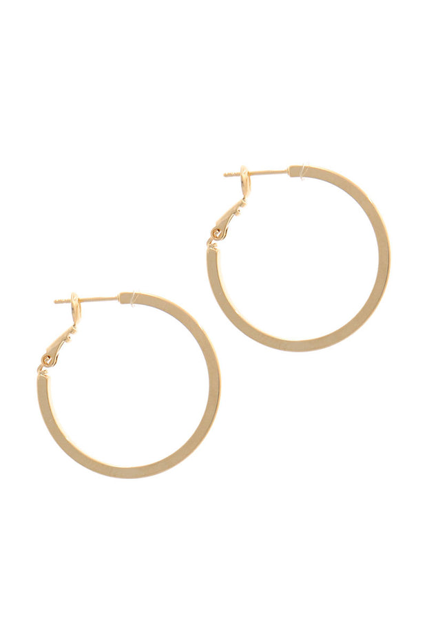 Glam Forever Hoop Earrings - Shop Spoiled Boutique