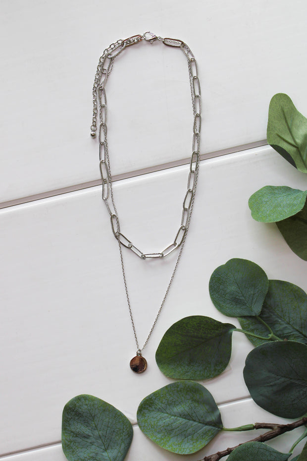 So Much Style Necklace: Silver - ShopSpoiled
