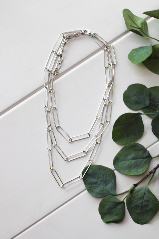 Perfect Trio Chain Necklace - ShopSpoiled
