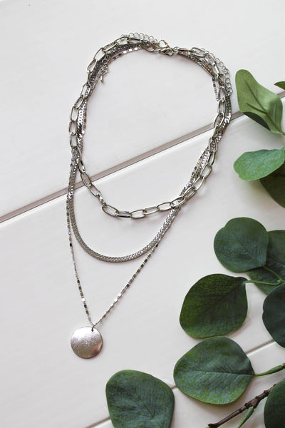 Always Dreaming Necklace: Silver