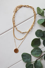 Always Dreaming Necklace: Gold