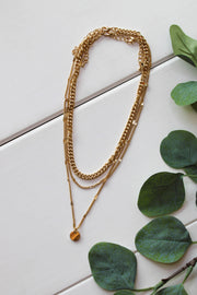 Glam Forever Necklace: Gold