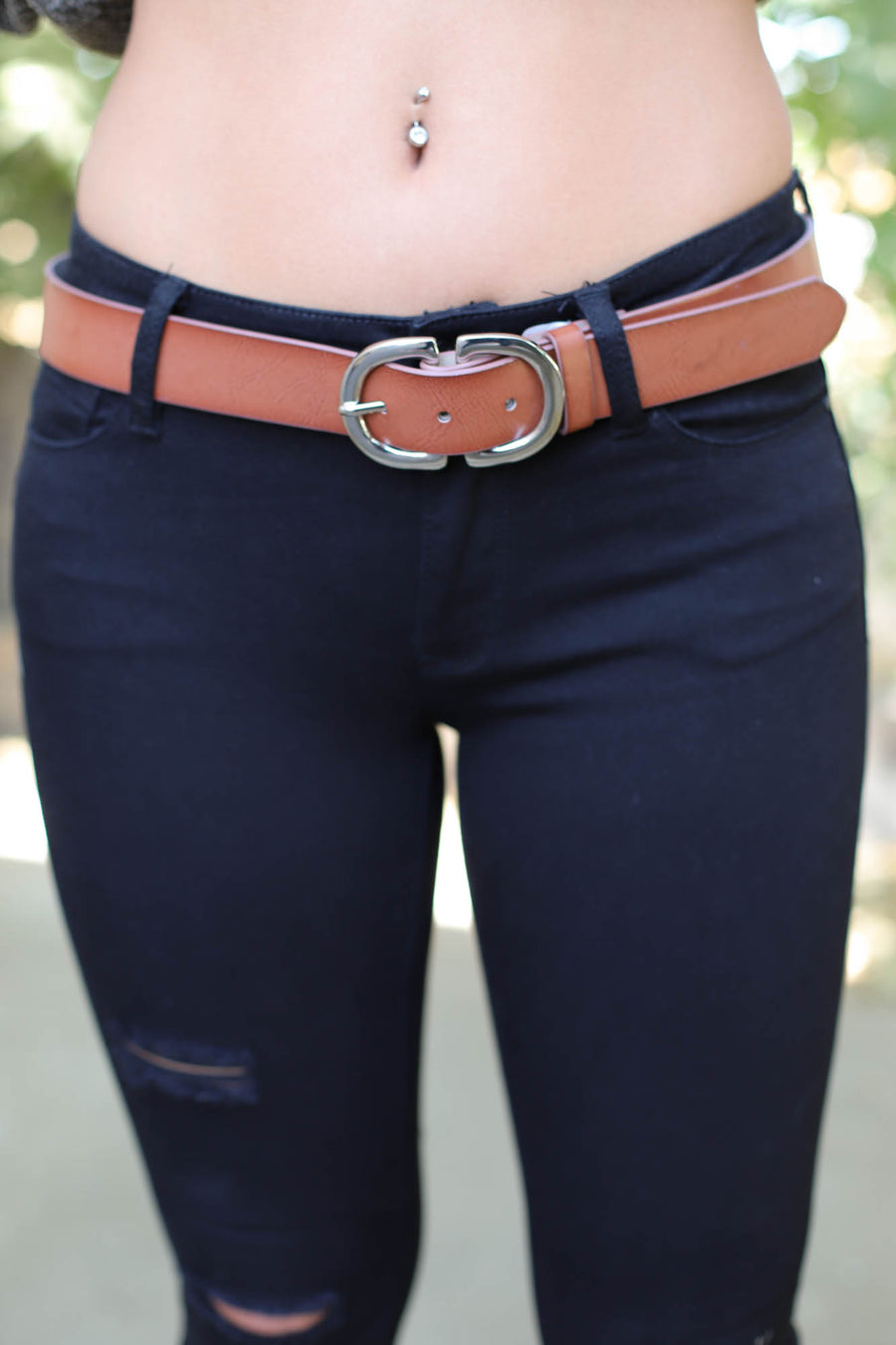 Collaboration Belt: Brown - ShopSpoiled