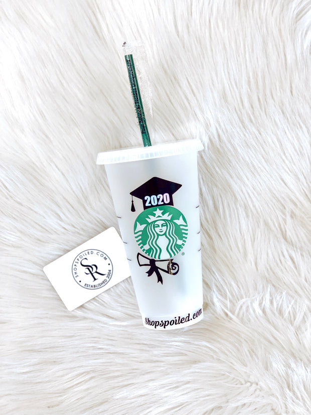 Starbucks Cups- Graduation 2020 - ShopSpoiled